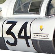 Porsche 906 - Détails de la décoration