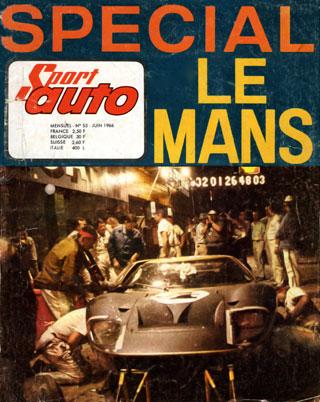 Sport Auto spécial 24 heures du Mans1966