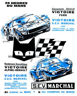 Victoire au Mans 1966