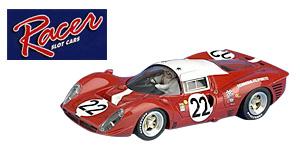 Ferrari 412P n°22 Racer Le Mans 1967