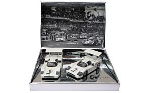Coffret MRRC MC0040, Chaparral 2F 24H Le Mans 1967 - #7 Phil Hill / Mike Spence - #8 Bob Johnson / Bruce Jennings