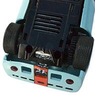 Mirage M1 - Le chassis et la transmission de la GT40