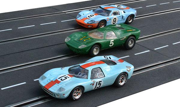 GT40 et Mirage Scalextric