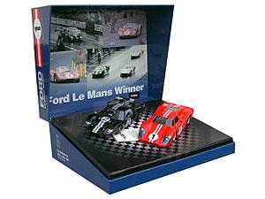 Coffret NSR set 04, Ford MkII 24H du Mans 1966 - Ford MkIV 24 H du Mans 1967