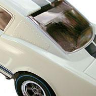 Ford Mustang Shelby GT 350R - Détails du panneau de custode
