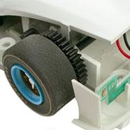 Ferrari 412P - Le moteur transversal et l'éclairage arrière