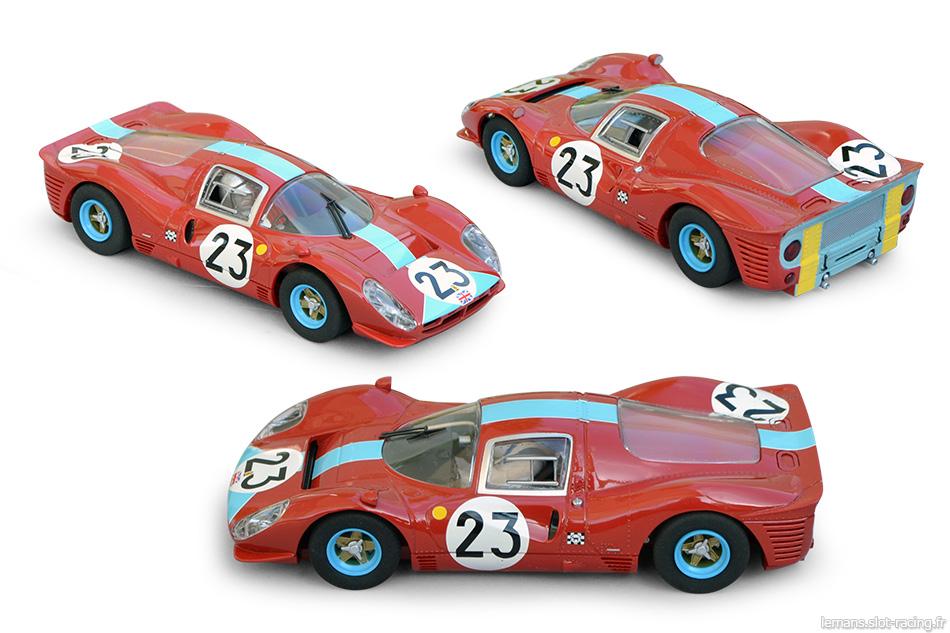 Ferrari 412P Scalextric C3028