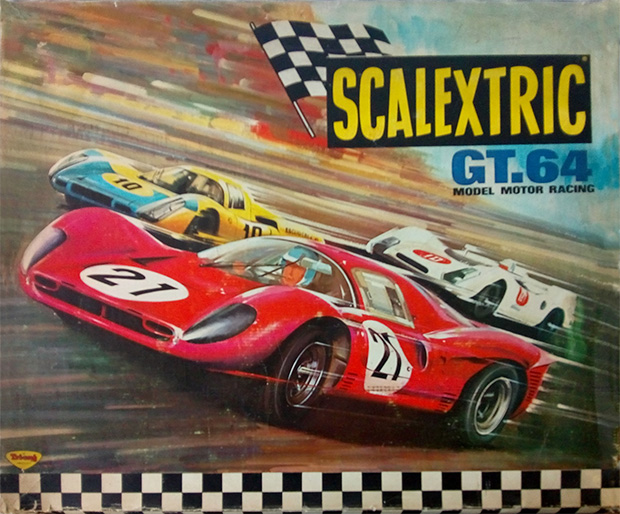 Coffret Scalextric GT64