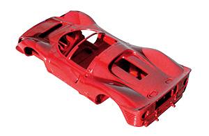 Ferrari 330 P4 spyder en cours de construction