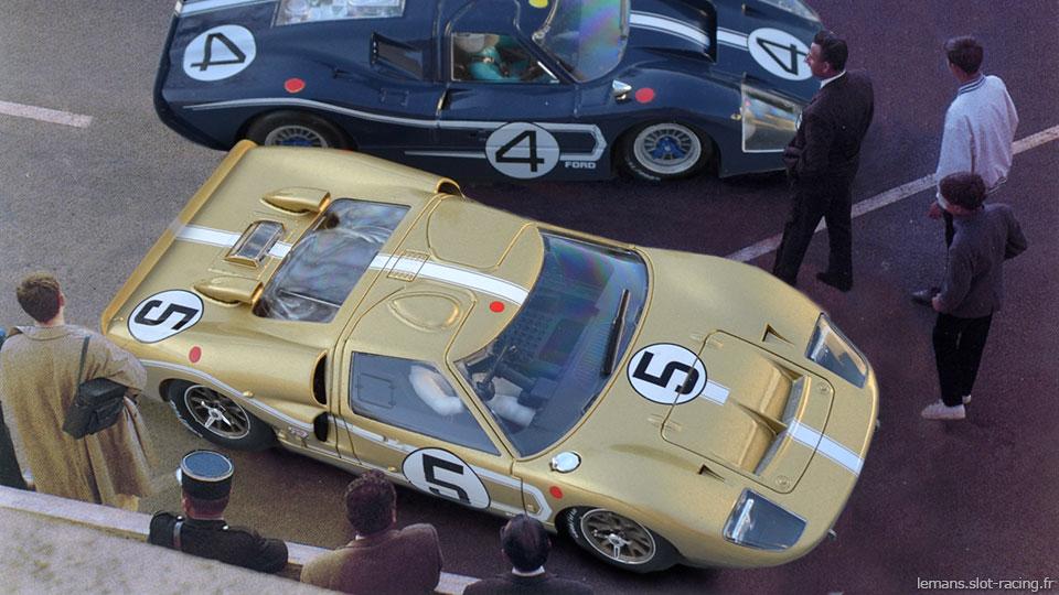 24 heures du Mans 1967 - Ford MkIIB #5 - Pilotes : Frank Gardner / Roger McCluskey - Abandon