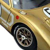 Ford MkIIB NSR - Détails des roues avant