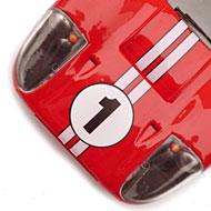Ford MkIV NSR - Détails du capot avant
