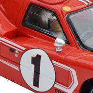 Ford MkIV Scalextric - Détails de la décoration