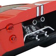 Ford MkIV Scalextric - Détails de la face arrière