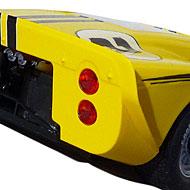 Ford MkIV NSR - Détails de la face arrière