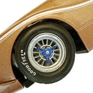Ford MkIV NSR - Détails des roues arrière