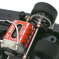 Ford MkIV NSR - Le moteur transversal