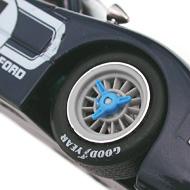 Ford MkIV NSR - Détails des roues et des papillons