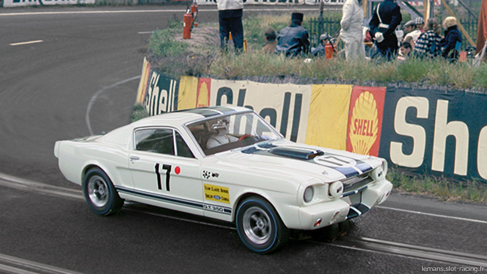 24 heures du Mans 1967 - Ford Mustang Shelby GT 350R - Pilotes : Chris Tuerlinckx / Claude Dubois - Abandon