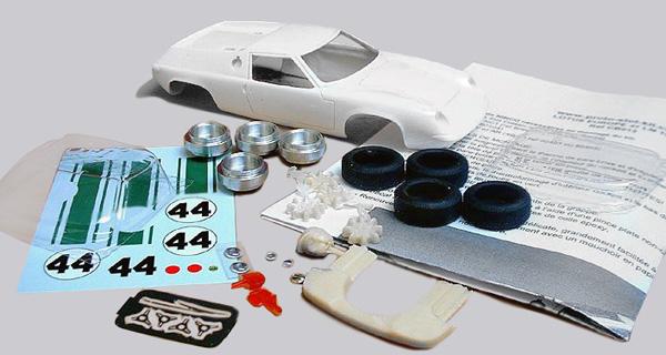 Le kit pré-peint Lotus 47 Europe PSK CB020