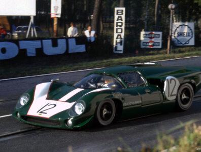 24 heures du Mans 1967 - Lola T70 MkIII - Pilotes : Peter de Klerk / Chris Irwin - Abandon