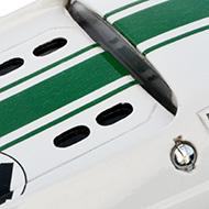 Lotus 47 Europe PSK - Détails du capot moteur