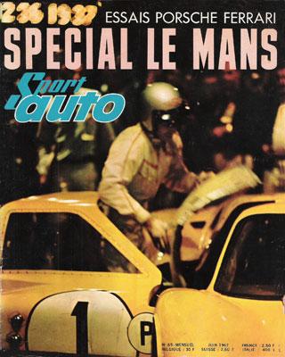 Sport Auto spécial 24 heures du Mans1967