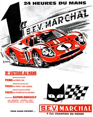 Victoire au Mans 1967