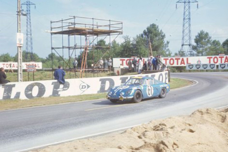 24 heures du Mans 1968 - Alpine A110 #61 - Pilotes : Joseph Bourdon / Maurice Nussbaumer - non classé