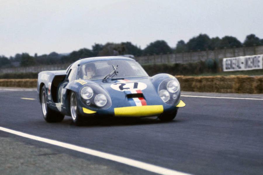24 heures du Mans 1968 - Alpine A220 #27 - Pilotes : Mauro Bianchi / Patrick Depailler- Abandon