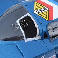 Alpine A220 Le Mans Miniatures - Détails de la bulle brisée