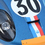 Alpine A220 Le Mans Miniatures - Détails du peigne aérodynamique