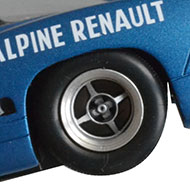 Alpine A220 Le Mans Miniatures - Détails des roues