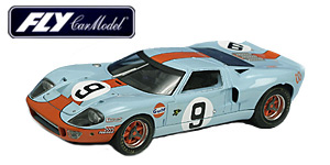 Ford GT40 n°9 Fly Le Mans 1968