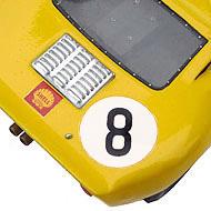 Ford GT40 Fly - Détails de la face arrière