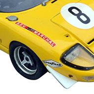 Ford GT40 Fly - Détails des stabilisateurs