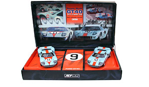 Coffret Fly Historical Teams, Ford GT 40 Gulf Team 24H Le Mans 1968