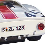 Porsche 910 - Détails de la face arrière