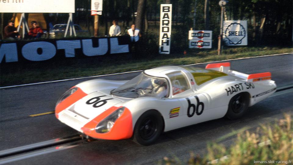 24 heures du Mans 1968 - Porsche 907 #66- Pilotes : Dieter Spoerry / Rico Steineman - 2ème