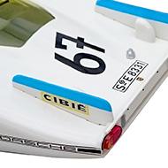 Porsche 907 SRC 00103 - Détails du capot arrière