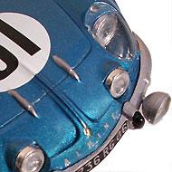 Alpine A110 SRT - Détails des phares à l'avant