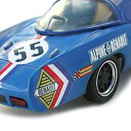 Alpine A210 Scalextric - Détails de la face arrière