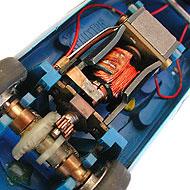 Alpine A210 Scalextric - Le moteur RX