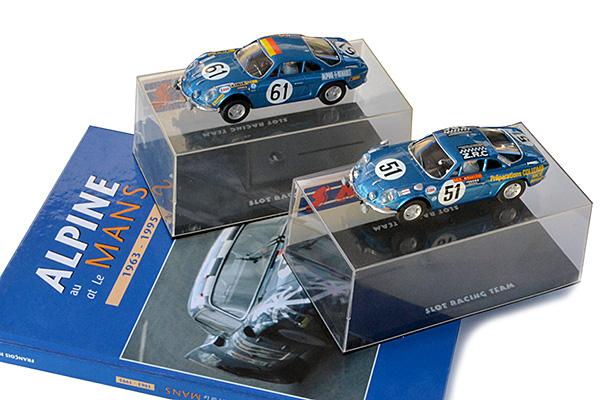 Les deux Alpine A110 des 24 heures du Mans 1968 réunies