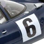 Lola T70 Thunderslot CA 001-KS - Détails de la décoration
