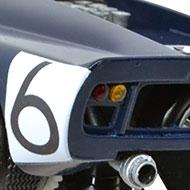Lola T70 Thunderslot CA 001-KS - Détails de la face arrière