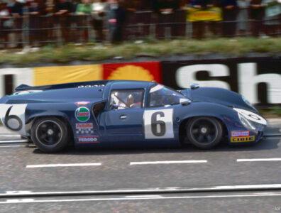 24 heures du Mans 1968 - Lola T70 MkIII - Pilotes : Jackie Epstein / Ed Nelson - Abandon