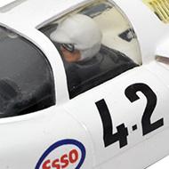 Porsche 906 - Airfix-5141 - Détails du poste de pilotage