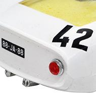 Porsche 906 - Airfix-5141 - Détails de la face arrière