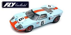 Ford GT40 n°6 Fly Le Mans 1969